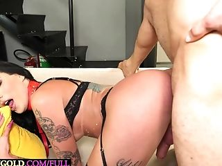 Ass Fucking, Bareback, Fetish, Guy Fucks Shemale, Latina, Sexy, Shemale, Slap, Tranny, Young,