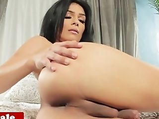 Dick, Ethnic, Gorgeous, HD, Latina, Masturbation, Shemale, Solo, Tranny,