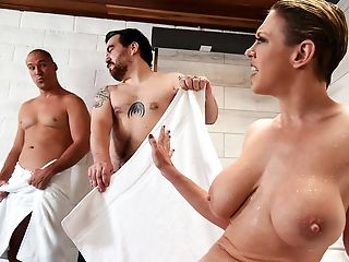 Amazing, Big Ass, Big Tits, Blonde, Cheating, Chubby, Curvy, Fake Tits, Femdom, Friend,