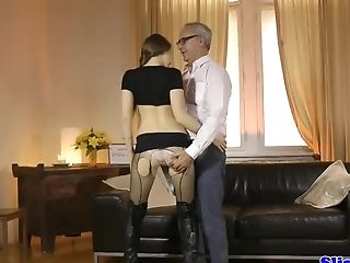 69, Amateur, Blowjob, Brunette, Classroom, Close Up, Cowgirl, Doggystyle, European, HD,