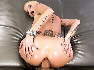 Anal Sex, Big Tits, Blonde, Creampie, HD, Joslyn James, Juicy, MILF,