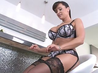 American, Ass, Ass Licking, Big Ass, Big Tits, Brunette, Lisa Ann, MILF, Reality, Rimming,