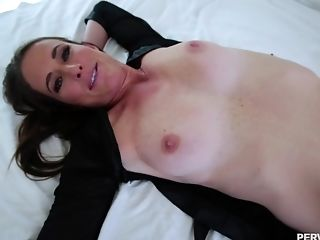 Ass, Blowjob, Boobless, Bra, Brunette, Couple, Cum, Cum On Tits, Cumshot, Doggystyle,