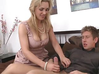69, Bedroom, Blonde, Blowjob, Clothed Sex, Housewife, Mature, Mom, Tanya Tate, Wife,