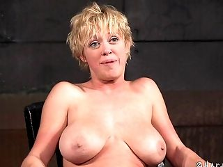 BDSM, Blonde, Bondage, Cute, Fetish, Pain, Pretty, Punishment, Short Haired, Spanking,
