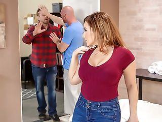 Big Natural Tits, Blonde, Caucasian, Cheating, Dick, Hardcore, Husband, Massage, MILF, Natural Tits,