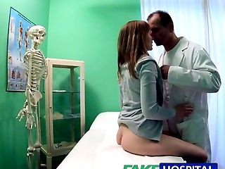 Amateur, Blowjob, Clinic, Creampie, Cute, Doctor, Hardcore, HD, Hidden Cam, Hospital,