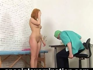 BDSM, Cute, Domination, Examination, Fetish, Ginger, Gyno, Insertion, Medical, Redhead,