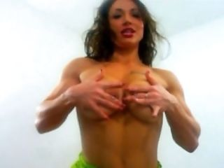 Big Clit, Big Nipples, Big Tits, Dress, Female Bodybuilder, Fetish, Fitness, Muscular, Nipples,