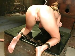 Aiden Aspen, Anal Toying, Blonde, Bondage, Brutal, Extreme, Hardcore, Punishment, Rough, Submissive,