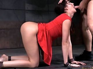 BDSM, Brunette, Dungeon, Fetish, Huge Cock, Stud,