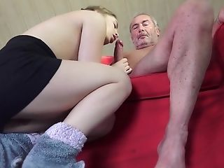 Babe, Blowjob, Brunette, Grandpa, Hardcore, Old And Young, Pussy, Teen,