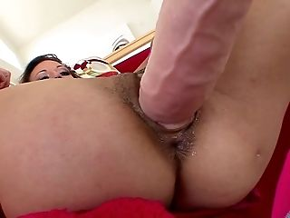 Beauty, Brunette, Couch, Cute, Horny, Jerking, Layla Rivera, MILF, Sex Toys, Sexy,