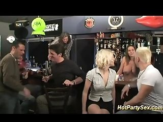 Bar, Gangbang, HD,