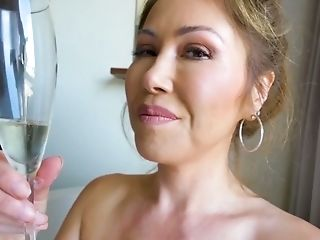 Bathroom, Big Tits, Blowjob, Cum Swallowing, Cumshot, Deepthroat, Ethnic, Handjob, Kianna Dior, MILF,