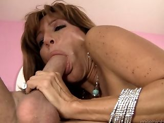 Ass, Ball Licking, Big Natural Tits, Blowjob, Bold, Couple, Cowgirl, Fingering, Hardcore, MILF,