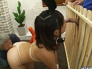 Ass, Babe, Blowjob, Boobless, Couple, Cum Swallowing, Cumshot, Cute, Ethnic, HD,