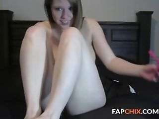 Dildo, Long Hair, Masturbation, Model, Natural Tits, Pussy, Shaved Pussy, Solo, Teen, Tight Pussy,
