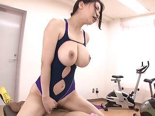 Anri Okita, Babe, Couple, Dick, Gym, Japanese,
