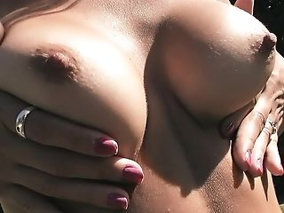 Big Ass, Big Tits, Blonde, Cameltoe, Fitness, Flexible, Model, Nature, Outdoor, Solo,