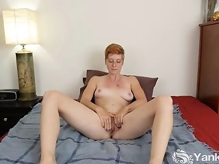 Amateur, Clit, Ginger, Hairy, HD, Jerking, Masturbation, Redhead, Softcore,